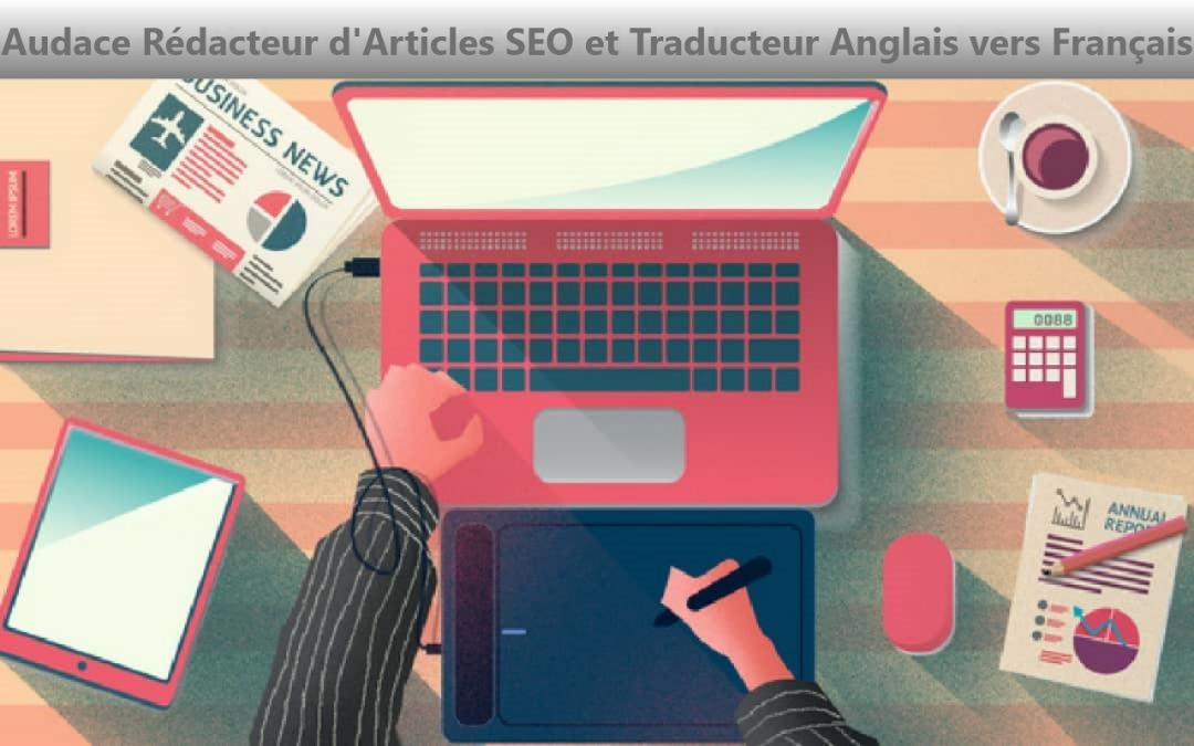Je vais écrire des articles courts de 500 à 1000 mots et traduire en français